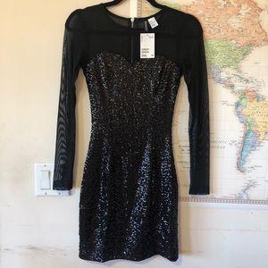 [BRAND NEW!] H&M Mesh Sequin Dress